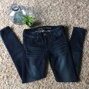 American Eagle Size 2 Super Low Jegging